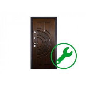 Ремонт зарубежных импортных дверей